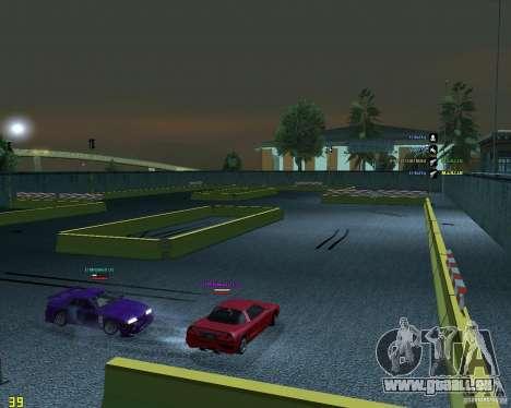 Circuit de dérive pour GTA San Andreas deuxième écran