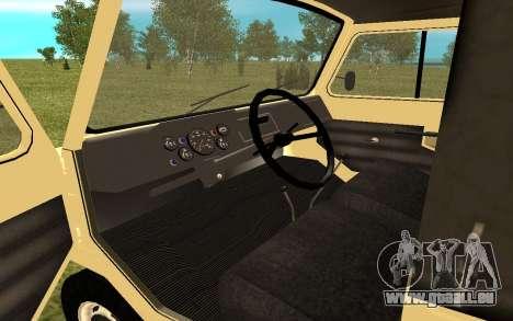 LuAZ 13021 pour GTA San Andreas vue de droite