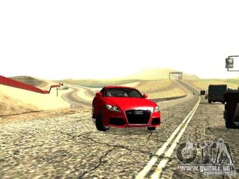 Audi TT-RS Coupe 2011 v.2.0 pour GTA San Andreas vue de droite
