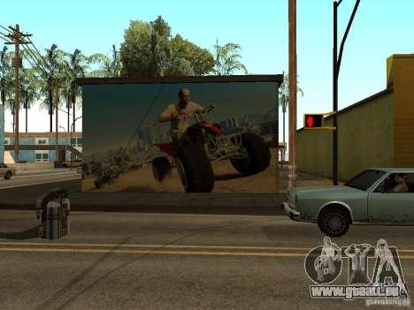 Poster de GTA 5 pour GTA San Andreas deuxième écran