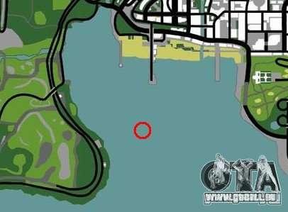 Plate-forme pétrolière à Los Santos pour GTA San Andreas sixième écran