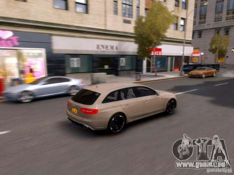 Audi RS4 Avant 2013 für GTA 4 Innenansicht