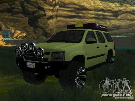 Chevrolet Tahoe Off Road pour GTA San Andreas