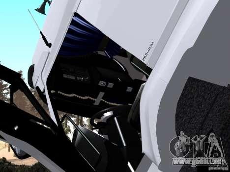 Renault Premium mélangeur pour GTA San Andreas vue de droite