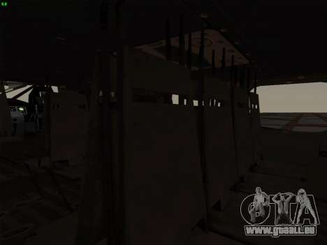 MH-X Stealthhawk für GTA San Andreas rechten Ansicht