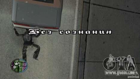 GTAIV HUD für ein Wide screen (16: 9) v2 für GTA San Andreas sechsten Screenshot