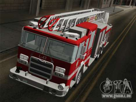 Pierce Arrow LAFD Ladder 43 für GTA San Andreas Innen