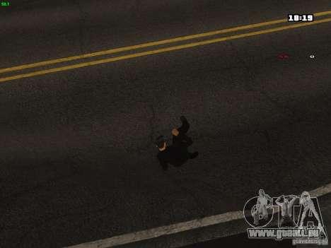 Nouvelles animations pour GTA San Andreas quatrième écran