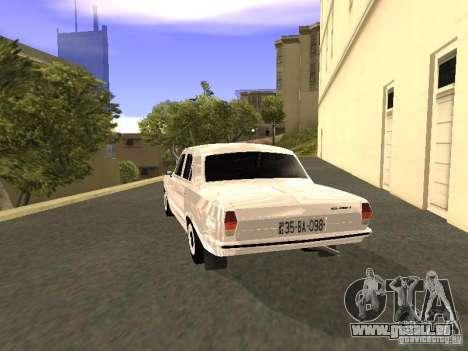 GAZ 24-10 pour GTA San Andreas vue de droite