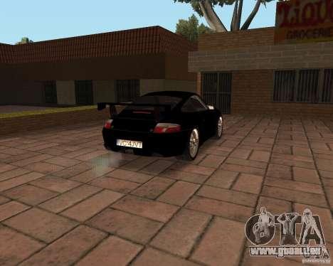 Porsche 911 GT3 RS pour GTA San Andreas moteur