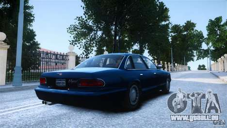 Civilian Taxi - Police - Noose Cruiser pour GTA 4 est une gauche