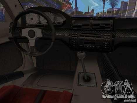 BMW M3 GTR de NFS Most Wanted pour GTA San Andreas vue de droite