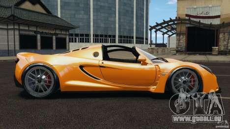 Hennessey Venom GT Spyder für GTA 4 linke Ansicht