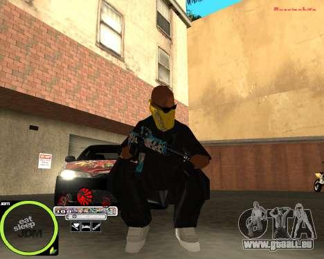 Weapon Pack by Alberto pour GTA San Andreas troisième écran