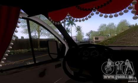 GAZ 3302 Business pour GTA San Andreas vue de droite