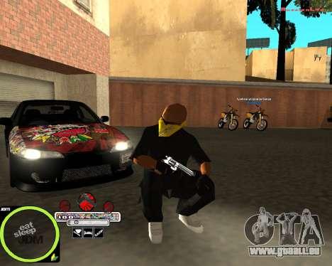 Weapon Pack by Alberto pour GTA San Andreas deuxième écran