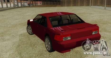 Sultan SRX für GTA San Andreas linke Ansicht