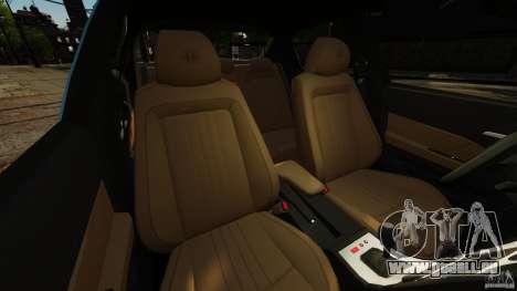 Alfa Romeo 159 TI V6 JTS pour GTA 4 est une vue de l'intérieur