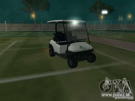Caddy de GTA TBoGT pour GTA San Andreas