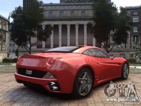 Ferrari California 2009 pour GTA 4 est une gauche
