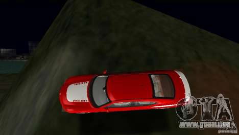 Dodge Charger RT für GTA Vice City obere Ansicht