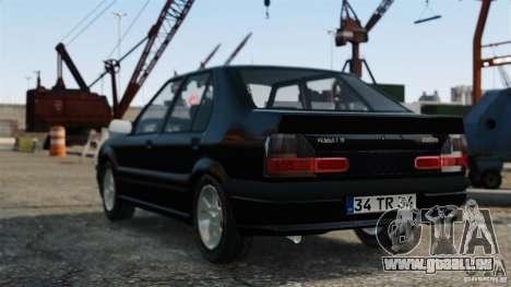 Renault 19 RL für GTA 4 linke Ansicht