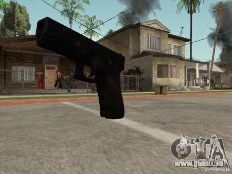 Pistolet G18 pour GTA San Andreas quatrième écran