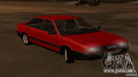 Audi 80 B3 v2.0 pour GTA San Andreas vue de droite