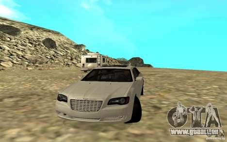 Chrysler 300C pour GTA San Andreas sur la vue arrière gauche