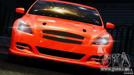 Infiniti G37 2008 Black Shark Pro-Service für GTA 4