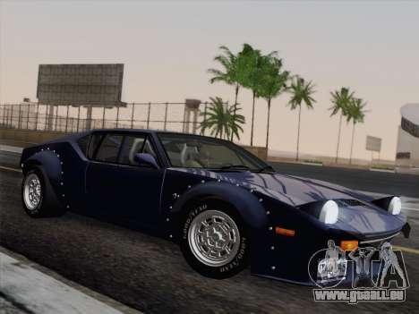 De Tomaso Pantera GT4 für GTA San Andreas Rückansicht