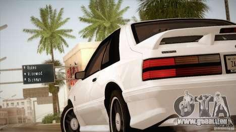 Ford Mustang SVT Cobra 1993 für GTA San Andreas Innen