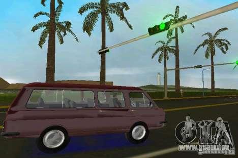 RAF 2203 pour une vue GTA Vice City de la droite