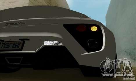 Zenvo ST1 2010 pour GTA San Andreas vue de droite