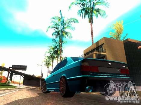 BMW 535i E34 für GTA San Andreas linke Ansicht