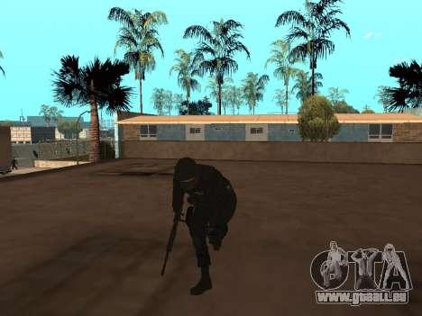 Membre du FSB pour GTA San Andreas deuxième écran