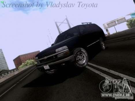 Chevrolet Tahoe 2003 SWAT für GTA San Andreas