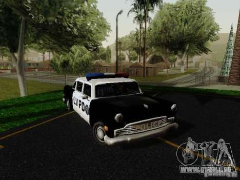Cabbie Police LV pour GTA San Andreas