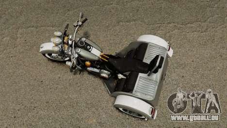 Harley-Davidson Trike für GTA 4 rechte Ansicht