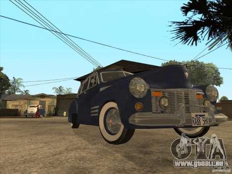 Cadillac 61 1941 pour GTA San Andreas vue de droite