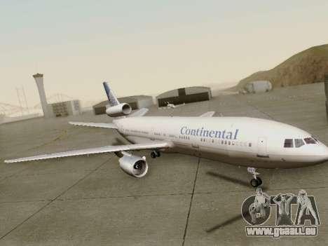 McDonell Douglas DC-10-30 Continental pour GTA San Andreas