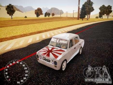 Vaz-2101 Drift Edition pour GTA 4 est une gauche