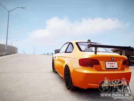 BMW M3 GT-S pour GTA 4 est une gauche