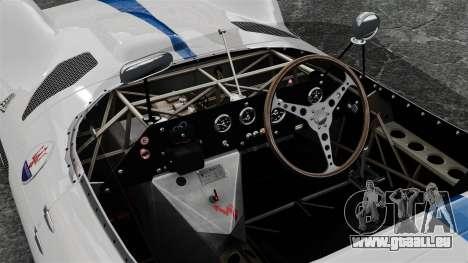 Maserati Tipo 60 Birdcage pour GTA 4 Vue arrière