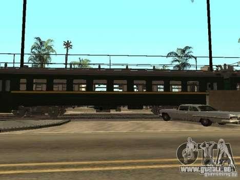 ÈR2R-7750 pour GTA San Andreas vue de droite