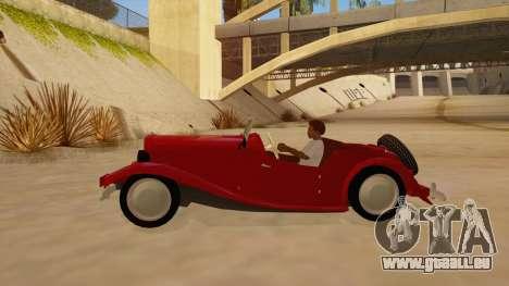 MG Augest für GTA San Andreas linke Ansicht