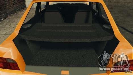 Ford Escort L 1994 Custom pour GTA 4 vue de dessus