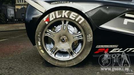 McLaren F1 ELITE Police pour GTA 4 Vue arrière
