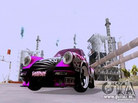 Porsche 911 Pink Power für GTA San Andreas linke Ansicht