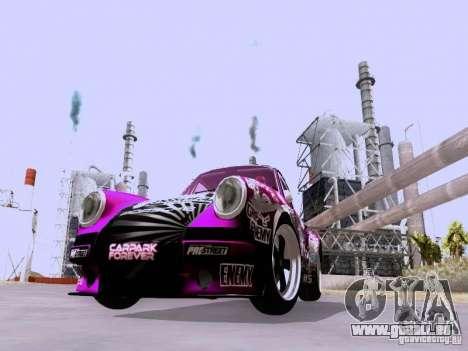 Porsche 911 Pink Power für GTA San Andreas linke Ansicht